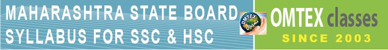 SSC & HSC syllabus Maharashtra State Board