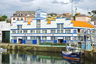 Puerto de Vega, almacenes de pescadores