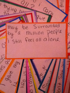 i still feel all alone quote