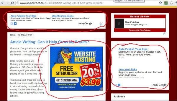 Tips Meningkatkan CTR Iklan Blog AMPUH