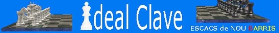 Escuela de ajedrez del Ideal d'en Clavé- Escacs de Nou Barris