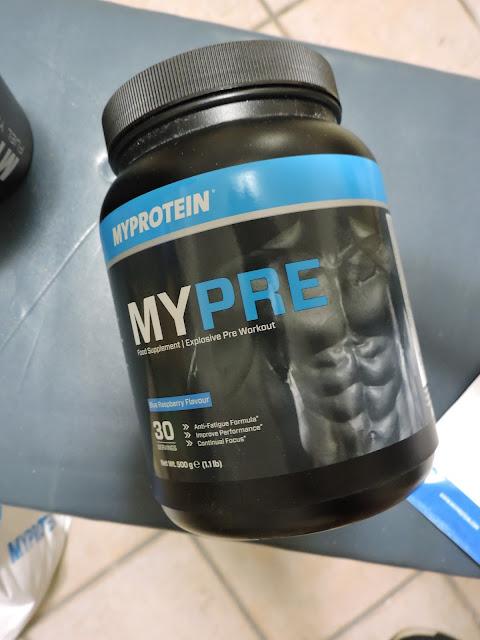 myprotein pre workout mypre