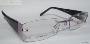 Modelo: MG 3501 Armação para Óculos de Grau Feminina Flutuante