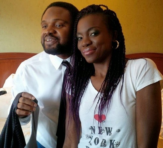 Cobhams Asuquo and wife in LA for the Grammys