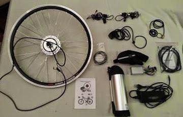 Motor Electrico para Transformar Bicicletas comunes a Electricas