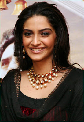 Sonam Kapoor Pearl Statement Necklace