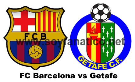 Barcelona vs Getafe por la Liga 2015