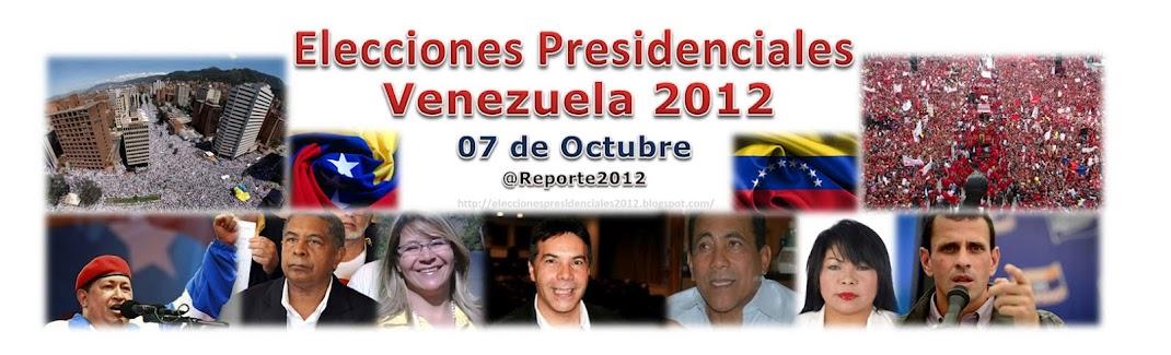 Presidenciales 2012. Reina Sequera