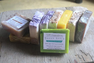 spa ingredients organic soaps