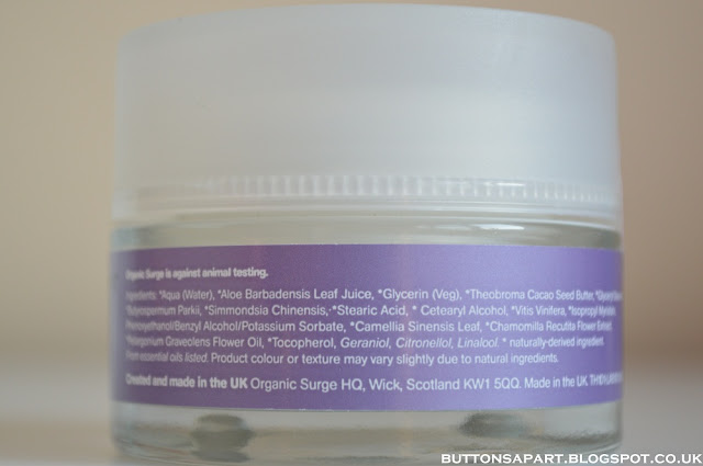 a picture of organic surge super-intensive daily moisturiser