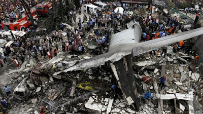 Diperkirakan 113 tewas dalam jatuhnya Hercules di Medan