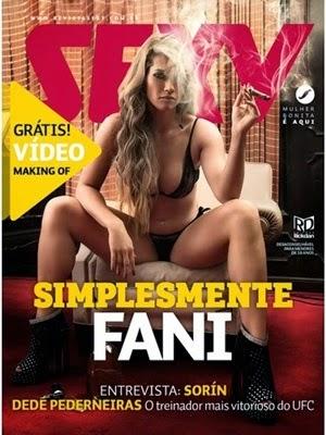 Revista Sexy Fani Pacheco