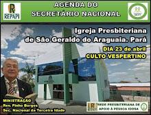 23.04.2017 - IPB SÃO GERALDO DO ARAGUIA