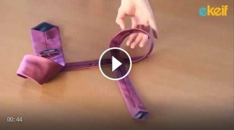 """طريقة سهلة جدا لربط رابطة العنق """" الكرافات """""""