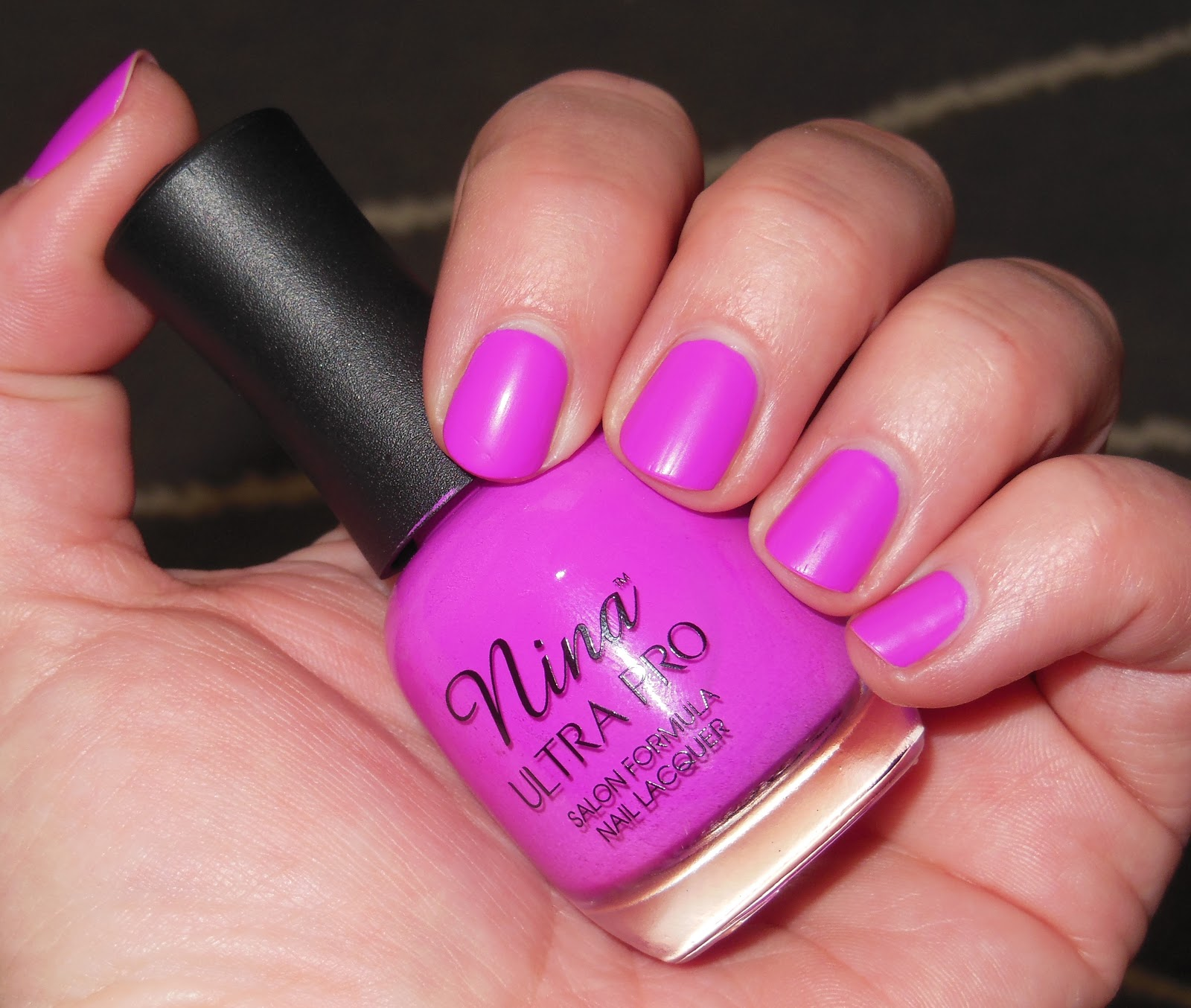 glambunctious!: REVIEW! | Nina Ultra Pro Nail Polish in Violet It Ride