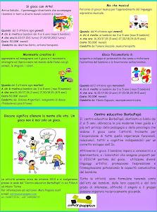 Attivita' creative e divertenti per bambini dai 3-5 anni!