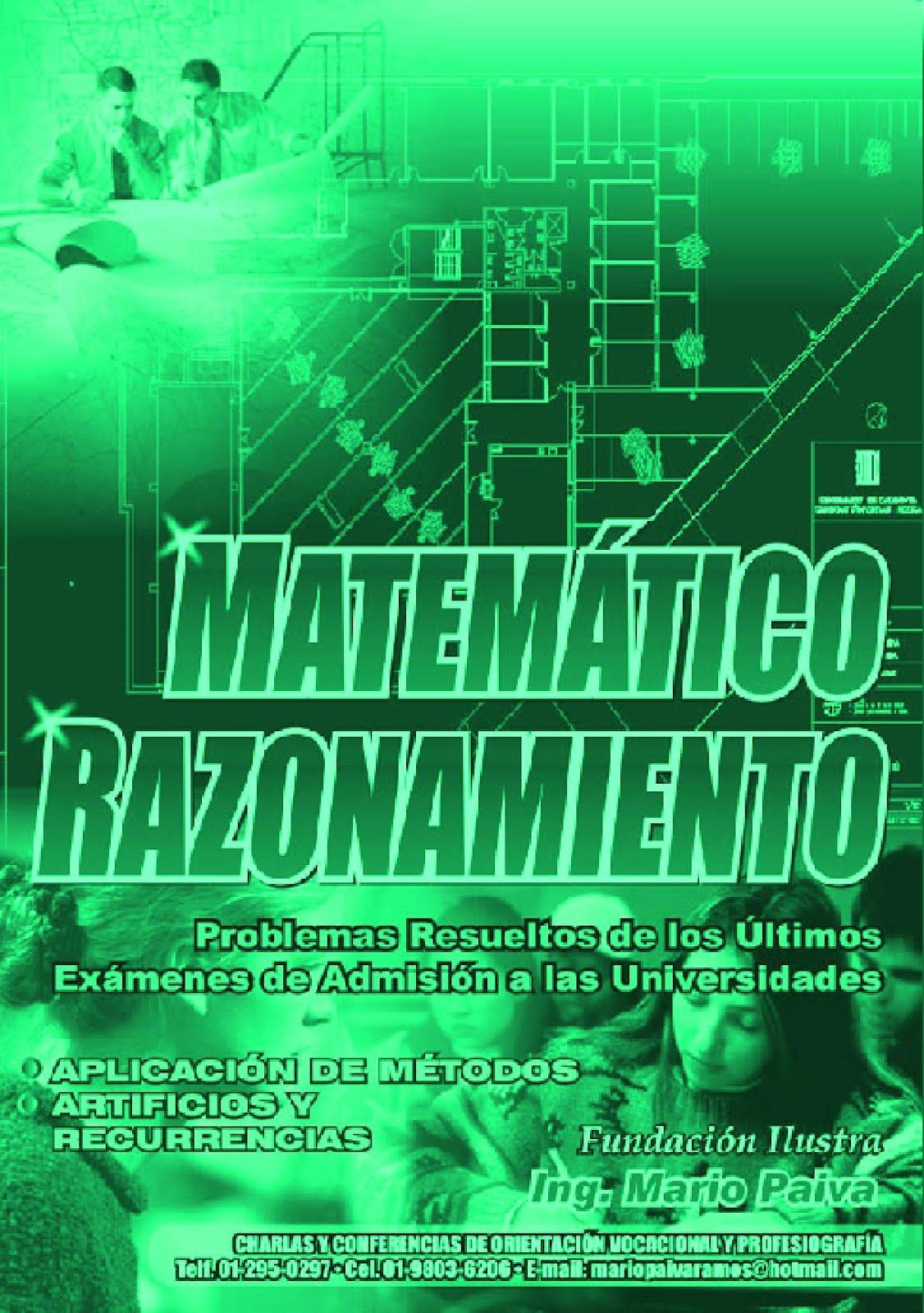 Razonamiento Matematico   Mario Paiva