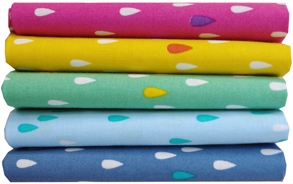 L's Modern Basics Collection by Lecien - Raindrops | Red Pepper Quilts