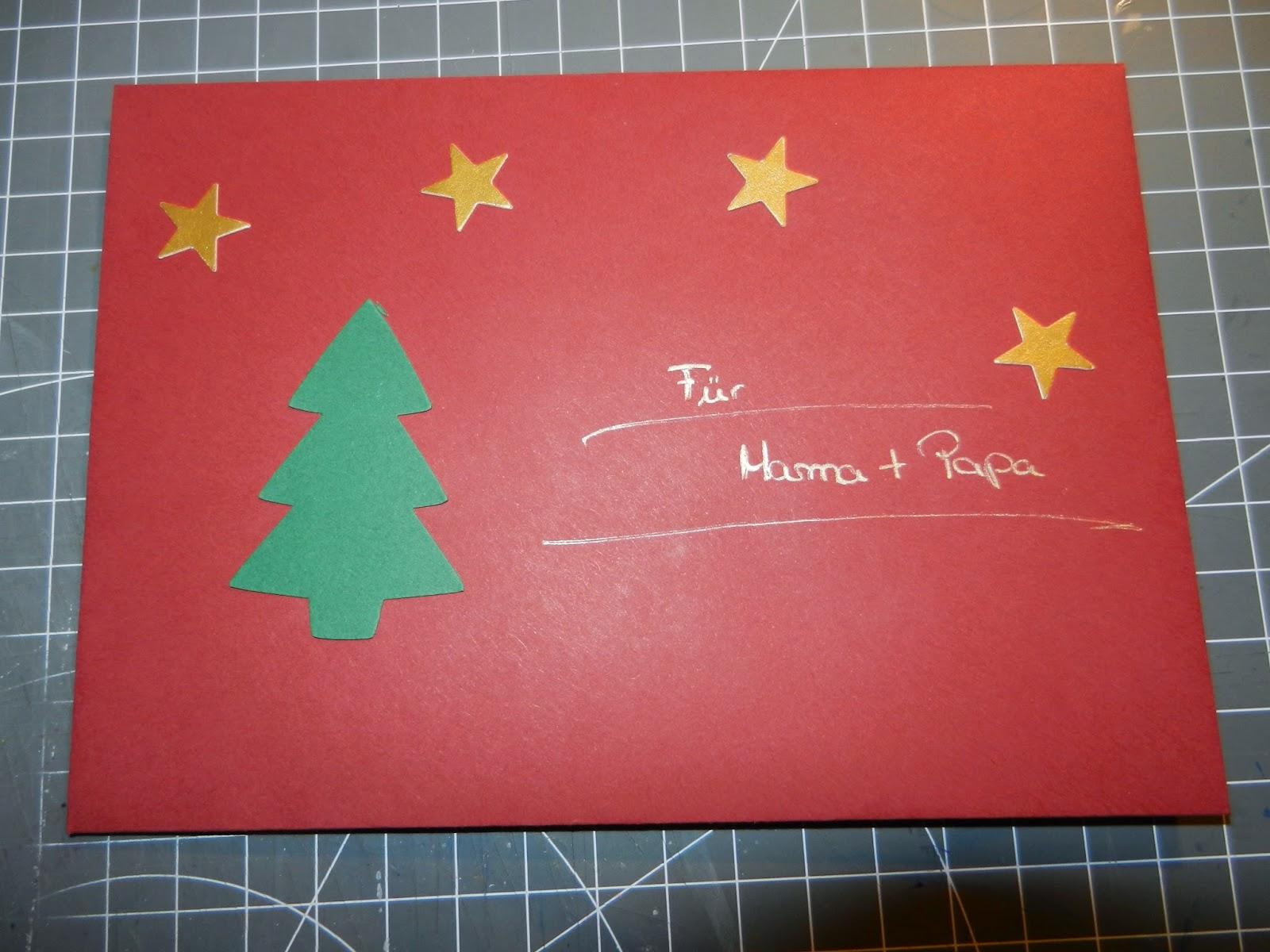 Polyxena polyxena war kreativ weihnachtskarten for Weihnachtskarten kreativ