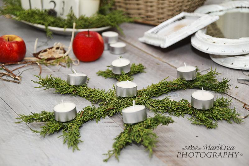 Decorazioni naturali per Natale