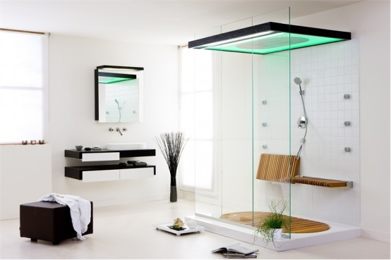 Modern bathroom furniture designs ideas an interior design for Modern shower design