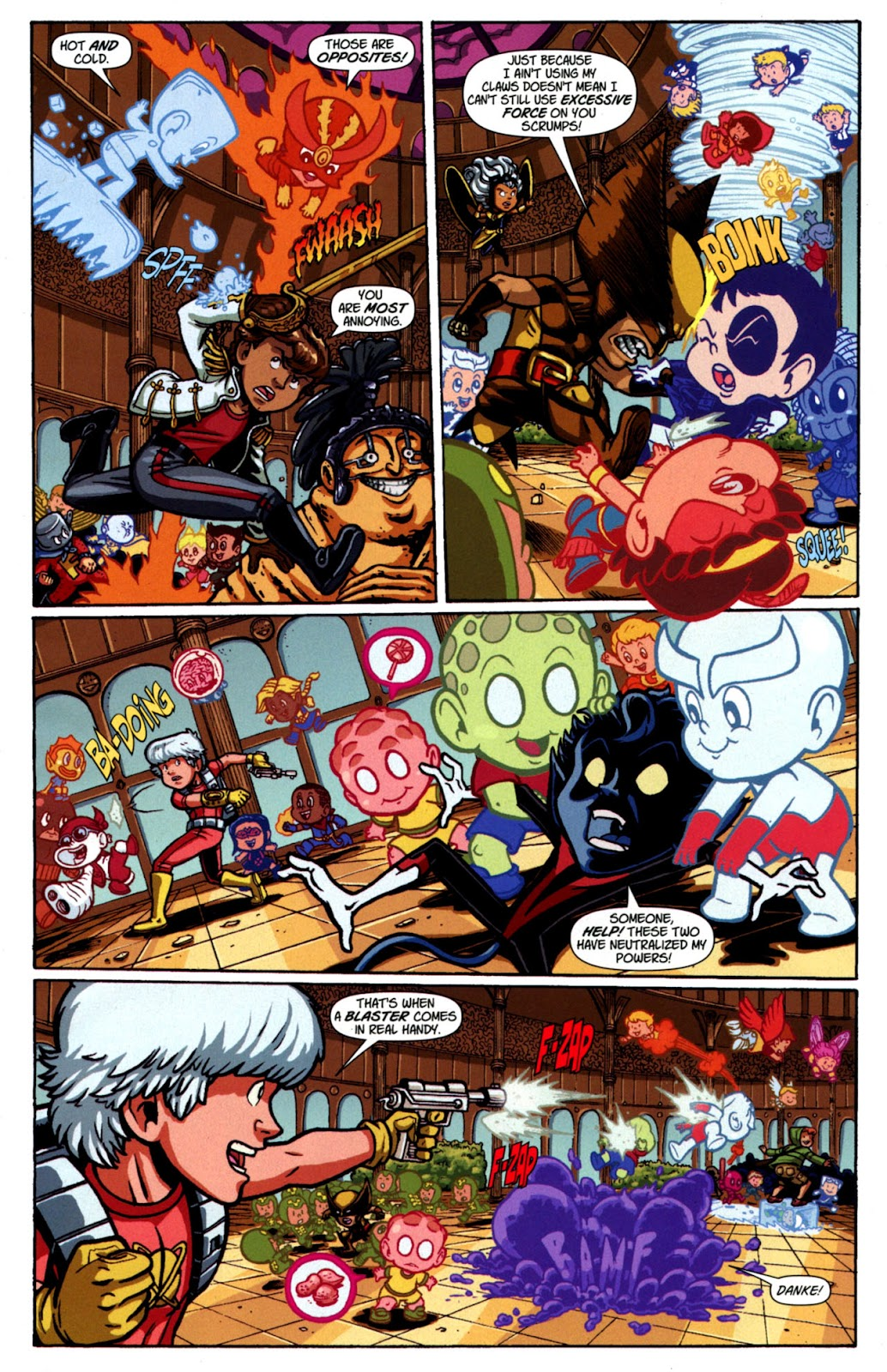 Read online X-Babies comic -  Issue #4 - 8