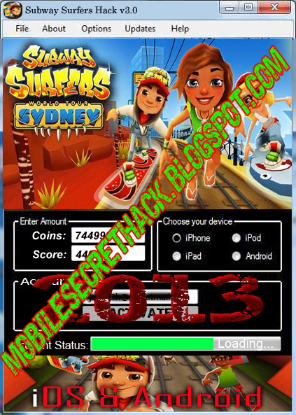 android subway surfers hack