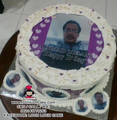 Kue Tart Edible Foto Daerah Surabaya - Sidoarjo