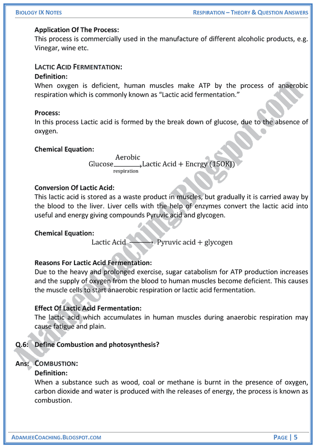 biology notes class 9th 9th class biology notes (unit # 8) for federal board (fbise) islamabad & punjab boards class 9 / ix / ssc / matric download pdf guide / key book.
