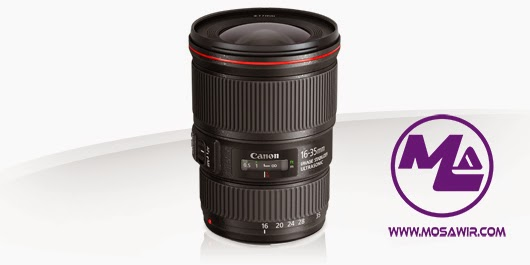عدسة كانون: EF 16-35mm f/4L IS USM