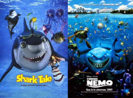 Shark Tale / Finding Nemo (2003)