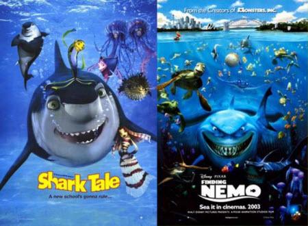 Shark Tale / Finding Nemo (2003)
