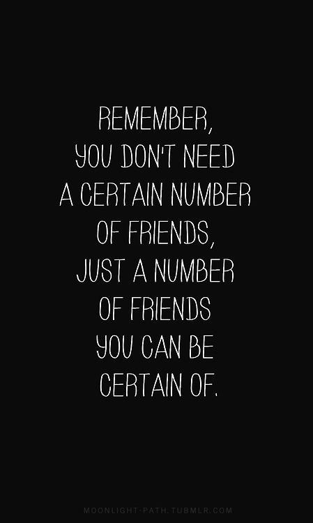 So True Friends Quote