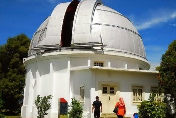 Observatorium di Lembang Bandung