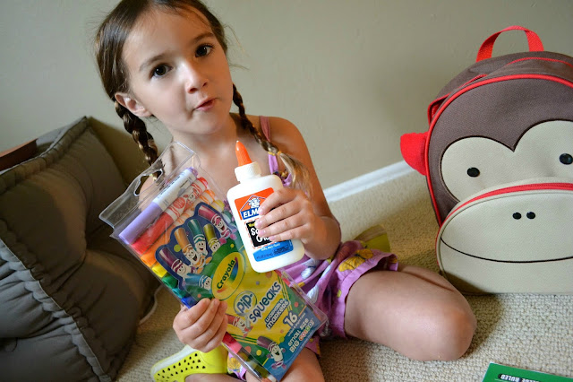 #bagitforward #shop #cfk donating school supplies skip hop monkey preschool backpack