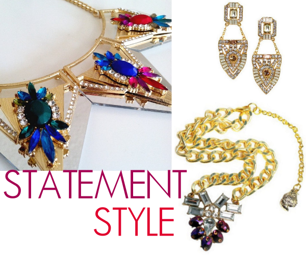 statement necklaces on a budget