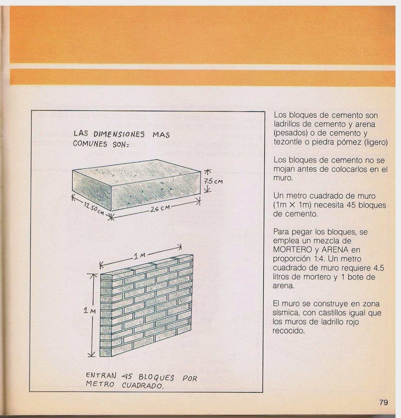Oasys libros manual de autoconstrucci n y mejoramiento de - Tipos de muros ...