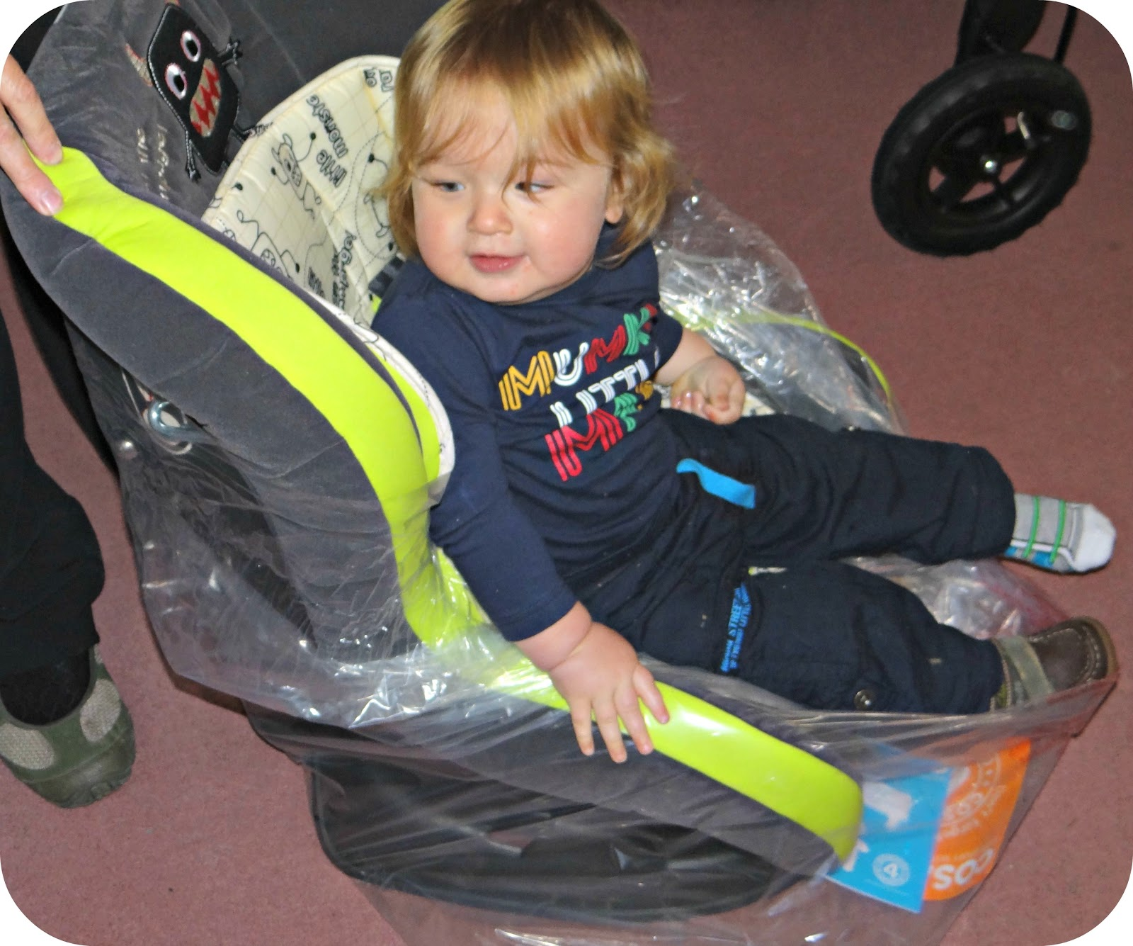 Life Unexpected: The Cosatto Moova Group 1 - Little Monster Car Seat ...