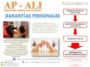 GARANTÍAS PERSONALES, TRAMITE Y SOLICITUD, AUDIENCIA EN LA GOBERNACIÓN, ASESORÍA LEGAL.