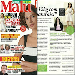 EU na REVISTA MALU