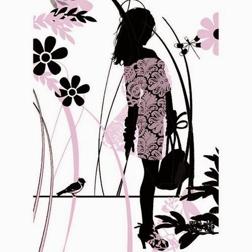 Catherine de Seabra silhouette artwork