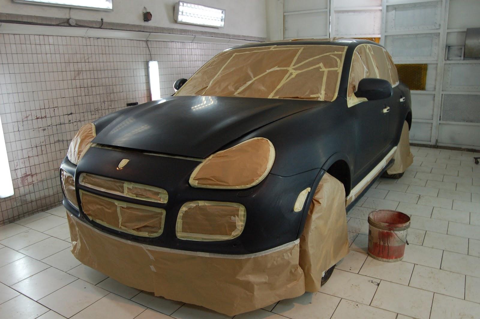 Garage f d ral libreville peinture porsche cayenne for Garage porsche caen