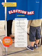 . at Scholastic's Storyworks asked me to write an Election Day poem.