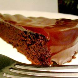 Gâteau au chocolat sans farine