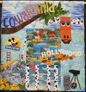COWAFORNIA- Sue Cresse's Cow Quilt- it is awesome!