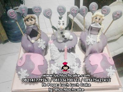 Cupcake Frozen Barbie Daerah Surabaya - Sidoarjo