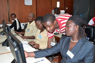 Teacher training workshops at Strathmore University, Kenya