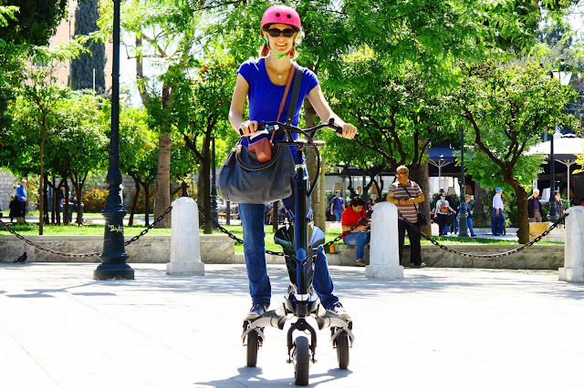 Scooterise Trikke Syntagma Square Athens Food Tour