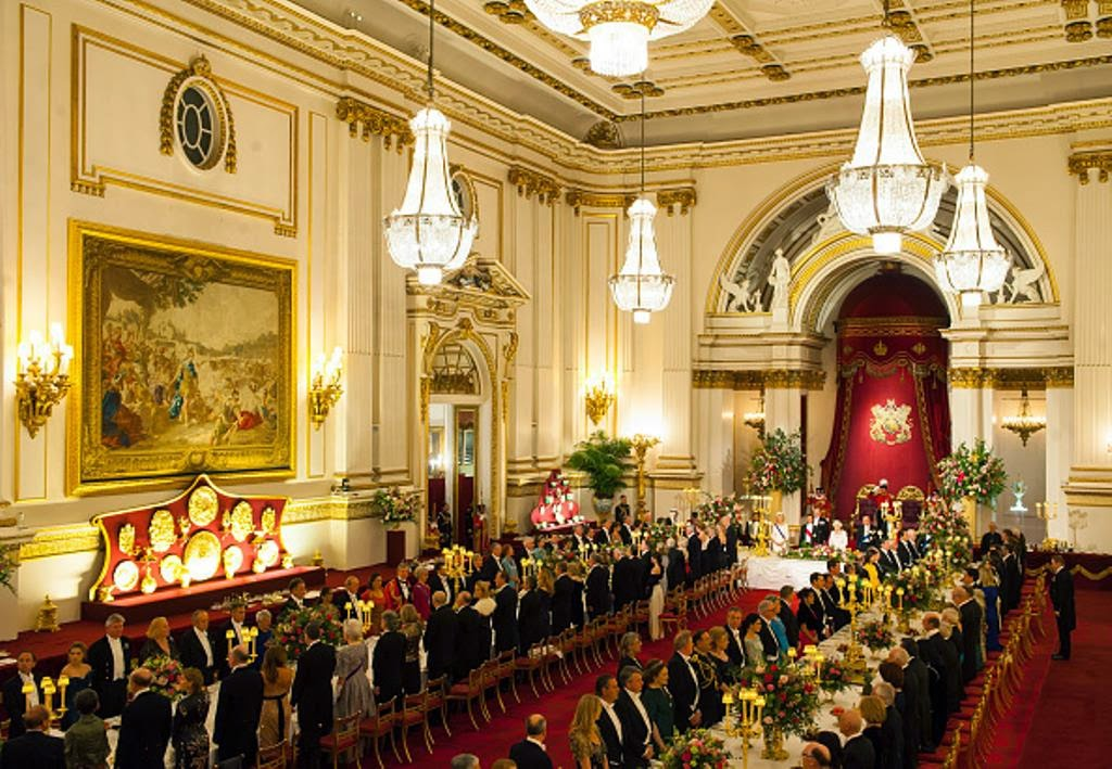 Royal Family Around the World British Royal Attends A Ceremonial Wele For The President Of