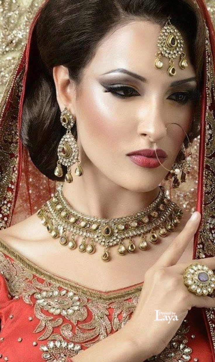 new Indian Bridal makeup photos 2015